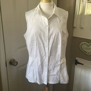 Women's Charter Club Sleeveless Blouse